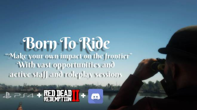 Red Dead Redemption: General - Born To Ride PS4 Roleplay image 2