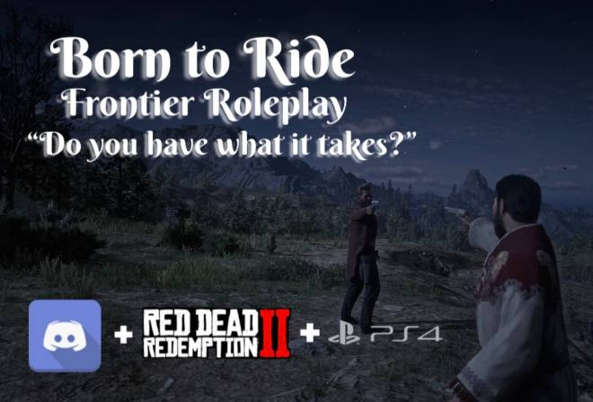 Red Dead Redemption: General - Born To Ride PS4 Roleplay image 1