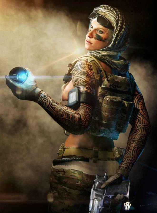 Rainbow Six: Art - Valkyrie wallpaper image 1