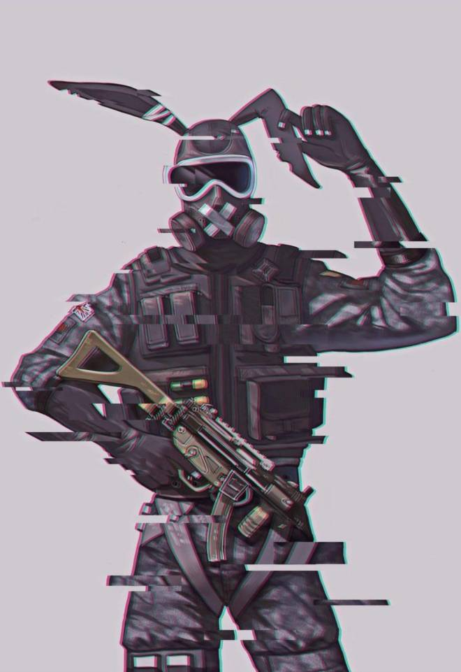 Rainbow Six: Art - Mute 🐇 image 2
