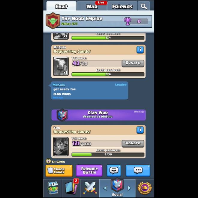 Clash Royale: Recruiting - Join our clash Royale clan  image 1