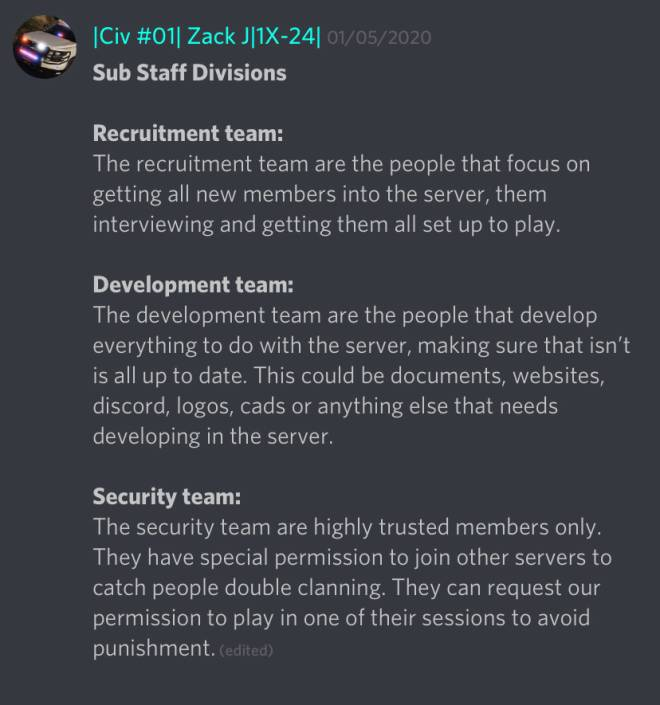 GTA: Promotions - If you want any of these roles in the SDRP discord message me  image 1