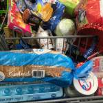 Grocery shopping is finished  had to fill it up to the top