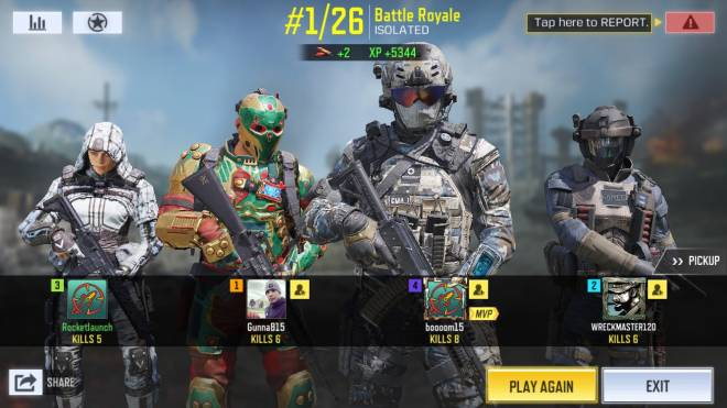 Call of Duty: Promotions - Squads win in call of duty  image 5