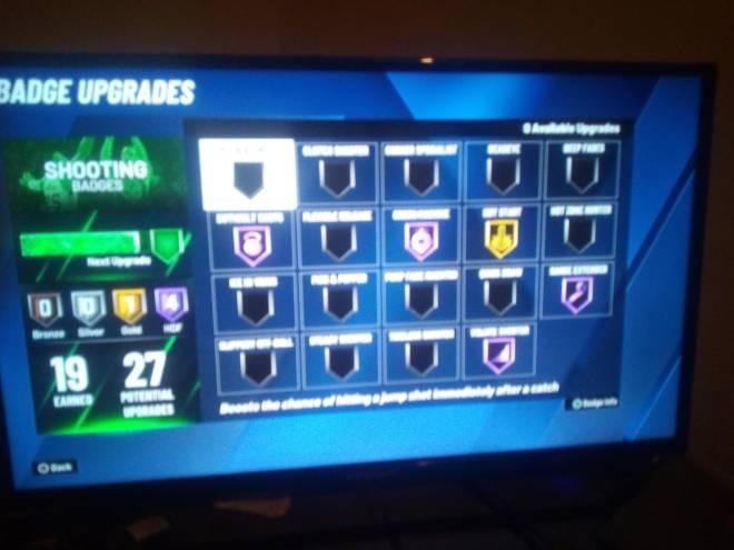 NBA 2K: MyCareer - What badge should I put on him image 1
