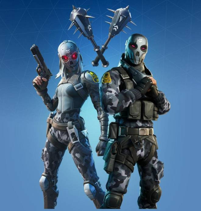 Fortnite: Battle Royale - Metal Masq Bundle: Cop or Drop? image 2