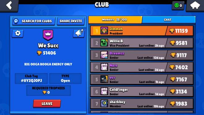 Brawl Stars: Club Recruiting - Looking for members image 1