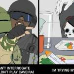 When that one teammate keeps picking caveira.