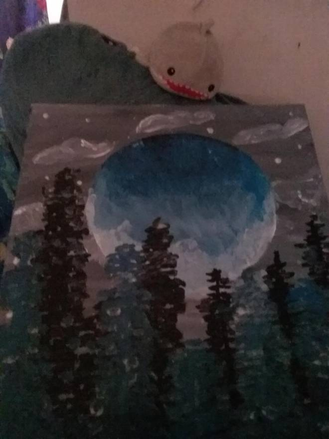 Destiny: General - So I tried drawing that forest in the cosmodrome so here image 2