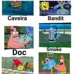 Rainbow six portrayed by spongebob pt 1.