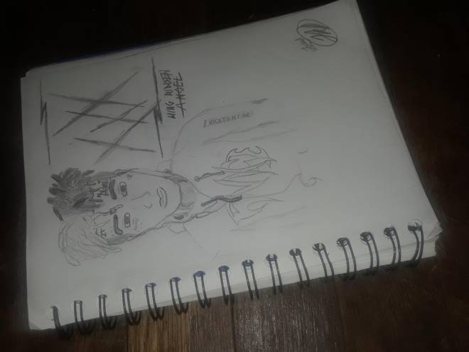 Entertainment: Art - Another 1/4 Drawings of XXXTENTACION  image 1