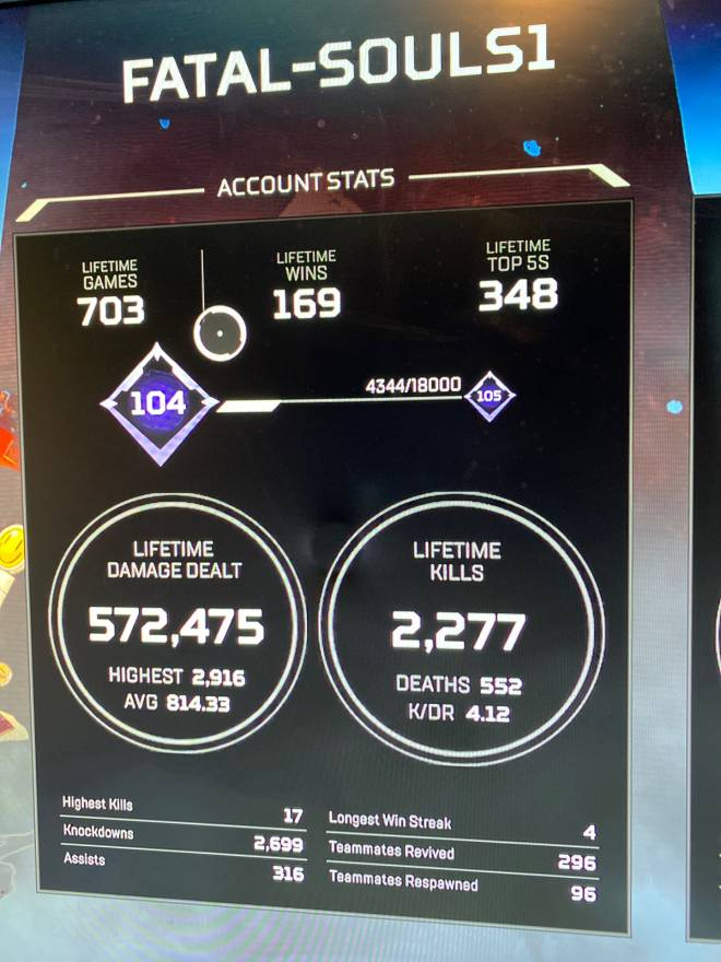 Apex Legends: Looking for Group - Tired of running solo and getting bots for teammates send me a friend request and let's get a full image 3