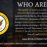 Join the ROA!