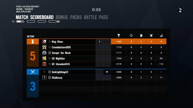 Rainbow Six: General - First Ranked Game... image 2
