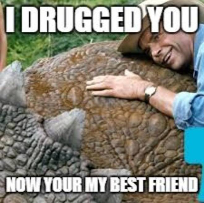 ARK: Survival Evolved: Memes - Is this how I'm supposed to be making friends??? image 1