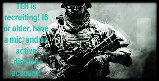 Call of Duty: Looking for Group - Join TEH today! Dm me for more info!  image 2