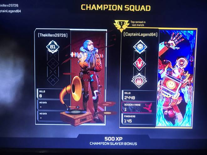 Apex Legends: General - Champions image 1