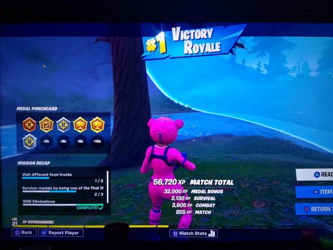 Fortnite: Battle Royale - I got my first ever Duo win!!! 😊😊 image 2