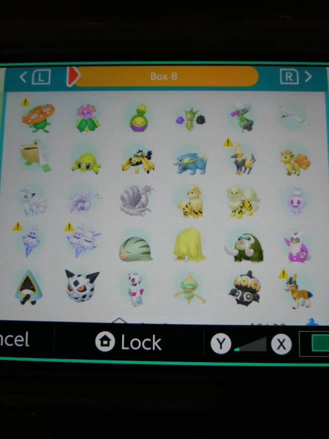 Pokemon: Trading - Hey guys! So after several hours of effort I finally got most of my living dex that can be moved to image 12