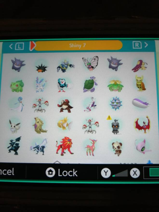 Pokemon: Trading - Hey guys! So after several hours of effort I finally got most of my living dex that can be moved to image 9