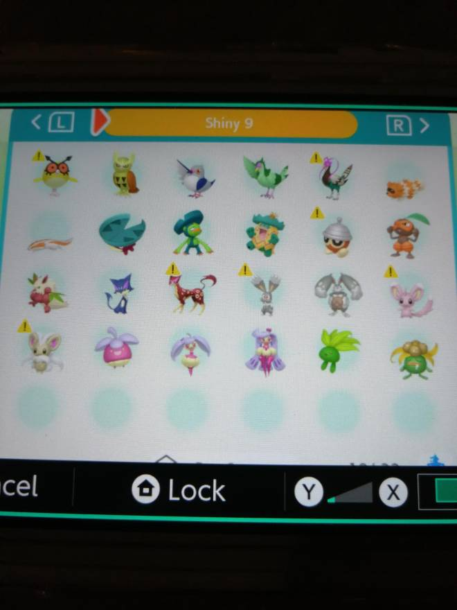 Pokemon: Trading - Hey guys! So after several hours of effort I finally got most of my living dex that can be moved to image 11