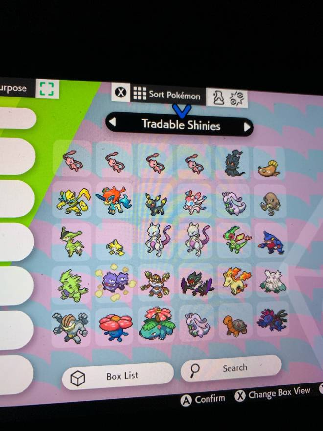 Pokemon: General - Looking for shiny trades image 3