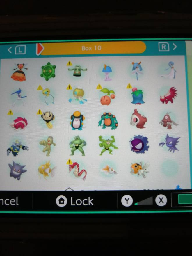 Pokemon: Trading - Hey guys! So after several hours of effort I finally got most of my living dex that can be moved to image 14