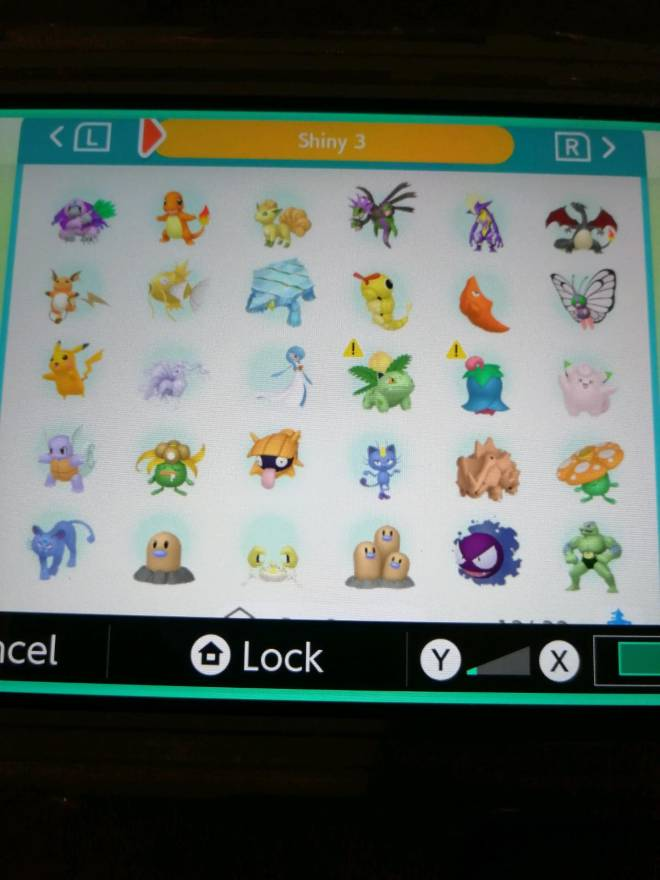 Pokemon: Trading - Hey guys! So after several hours of effort I finally got most of my living dex that can be moved to image 5