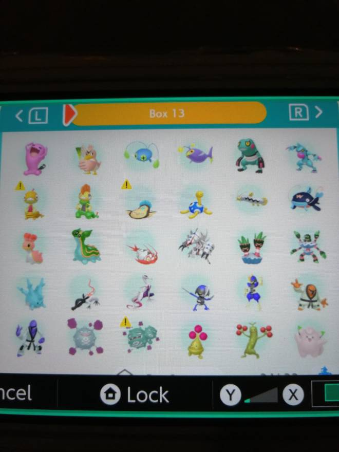 Pokemon: Trading - Hey guys! So after several hours of effort I finally got most of my living dex that can be moved to image 17