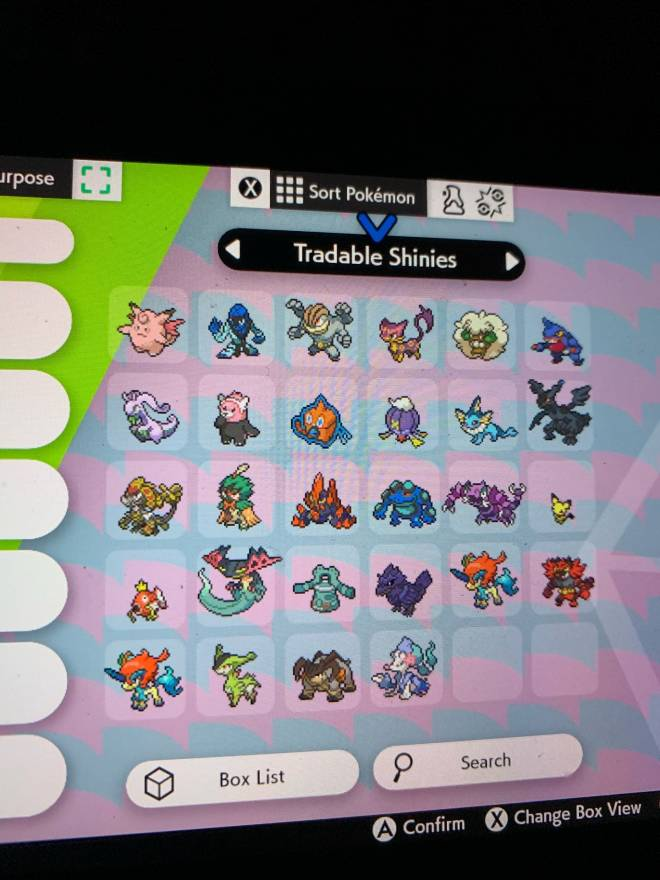 Pokemon: General - Looking for shiny trades image 2