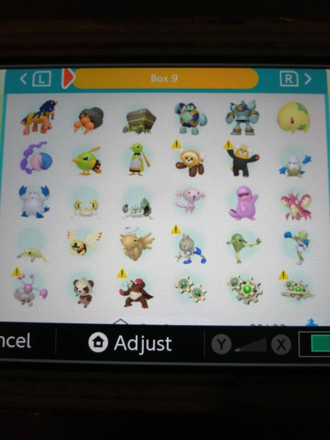 Pokemon: Trading - Hey guys! So after several hours of effort I finally got most of my living dex that can be moved to image 13
