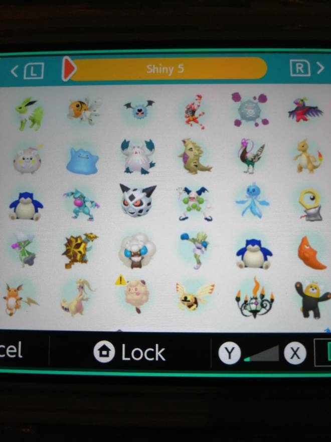 Pokemon: Trading - Hey guys! So after several hours of effort I finally got most of my living dex that can be moved to image 7