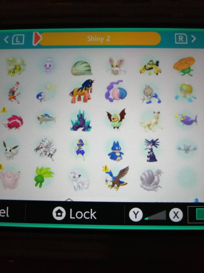 Pokemon: Trading - Hey guys! So after several hours of effort I finally got most of my living dex that can be moved to image 4