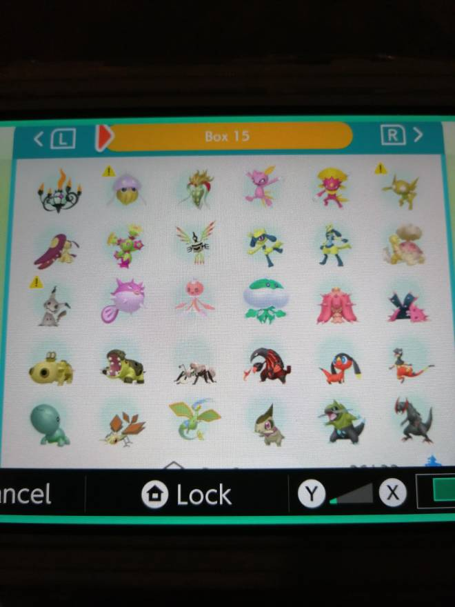 Pokemon: Trading - Hey guys! So after several hours of effort I finally got most of my living dex that can be moved to image 19