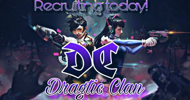 Overwatch: Looking for Group - Looking for Competitive players to join Dragtic Clan. Dm to join today image 3