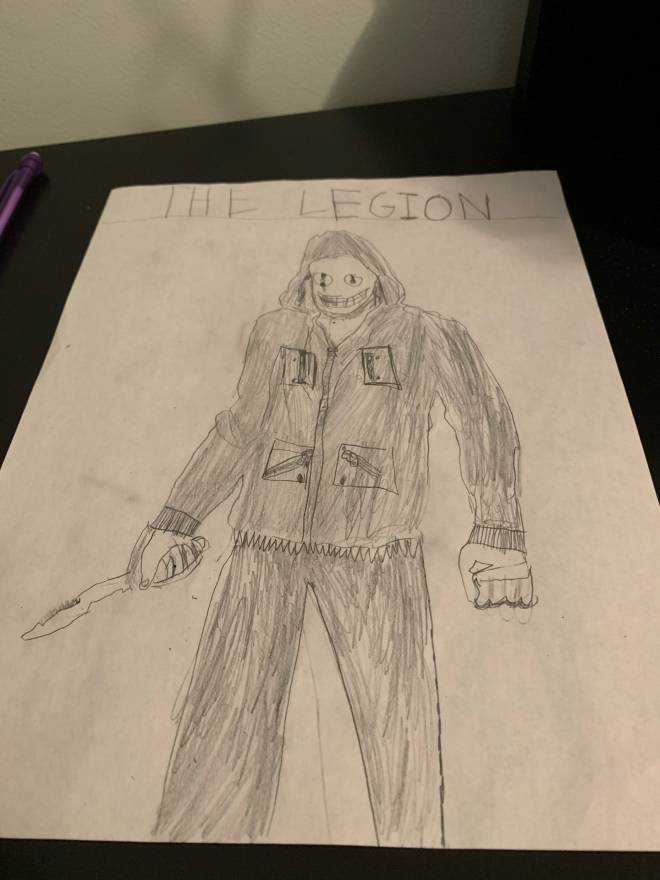 Dead by Daylight: General - What do you think of my legion sketch  image 1