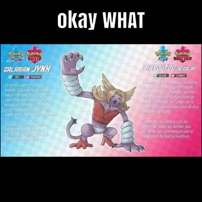 Pokemon: Pokémemes - Galarian Jynx is beeeeaaast😂 image 1