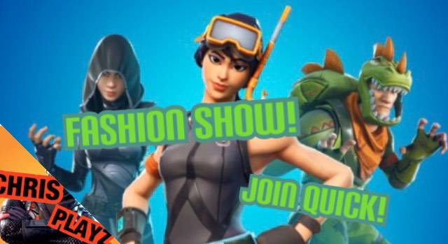 Fortnite: Looking for Group - FORTNITE FASHION SHOW AND SIMON SAYS! JOIN QUICK!!!   https://youtu.be/oH6oTXR92E8 image 4