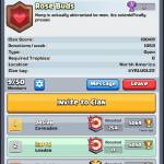 Join our clan please we need a couple more to participate in war :)