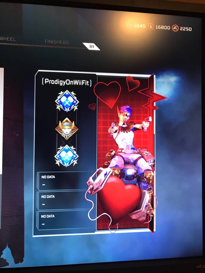 Apex Legends: Looking for Group - Looking for gold or platinum players to grind ranked..... at least 1000 kills on main image 3
