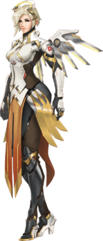 Overwatch: General - Is Overwatch's Resident Angel, Mercy, Actually Evil? image 4
