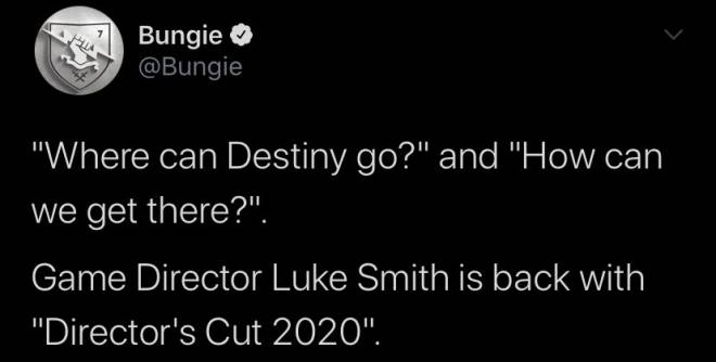 Destiny: Promotions - Luke Smith: Destiny 2020 Director's Cut image 8