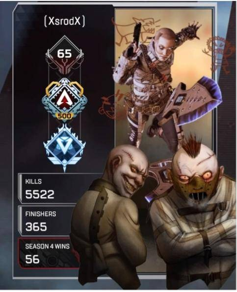 Apex Legends: General - Finally got the matching background for my favorite wraith skin! image 1