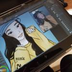 I'm drawing a good friend of mine ♡
