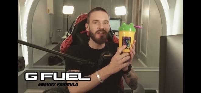 G Fuel: General - New Pewdiepie Shaker! image 2