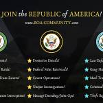 Join the Republic of America!