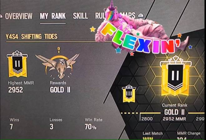 Rainbow Six: General - First Time Ranked Results!! image 2
