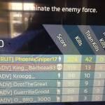 Highest kill game so far