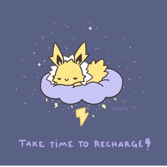 Pokemon: General - Don't forget during all this business that you need rest image 2