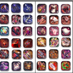 are those items (wep/amor/acc) sets like the others?
